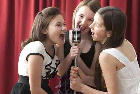 Star For A Day - Recording Studio Party for Up to Five Kids - Save 72%