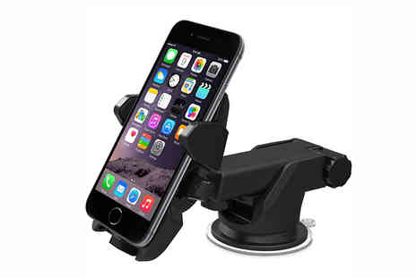 H&C Electronics - Car Mount Holder Compatible with iPhone, Samsung and More - Save 71%