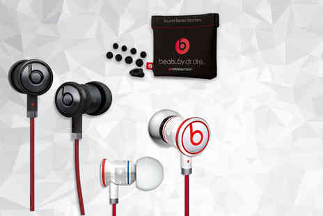Digital Save - Pair of Monster Beats by Dr Dre urBeats in ear headphones - Save 68%
