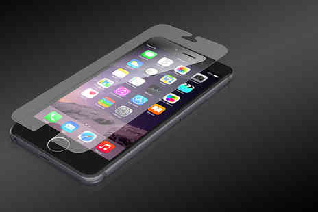 Digital Save - Tempered glass screen protector for iPhone 5, iPhone 6/6 Plus and Samsung S5/S6 models - Save 82%