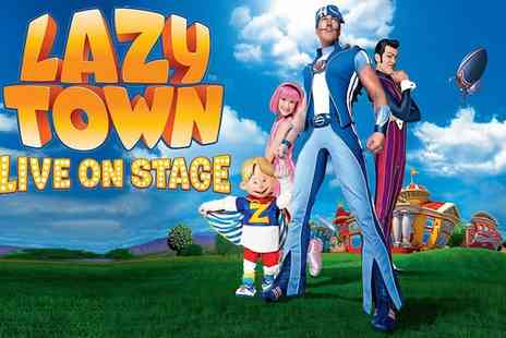 GRT Productions - Lazytown Live on Stage on 7 July - Save 32%