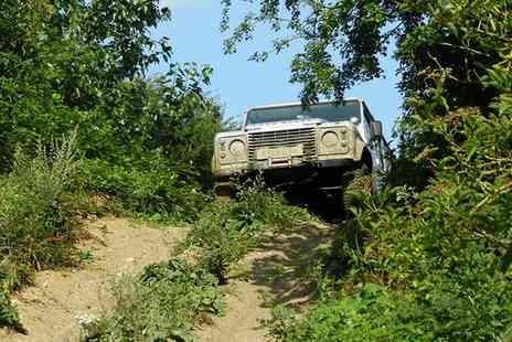 Experience The Country - Off Road Driving Experience for Two - Save 53%