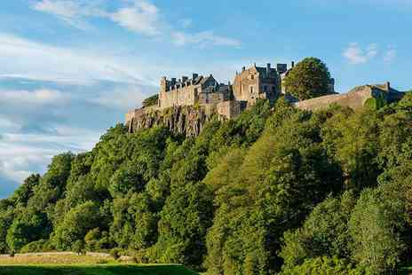 The Stirling Highland Hotel - One or two Nights break for two, breakfast, dinner and Champagne - Save 34%