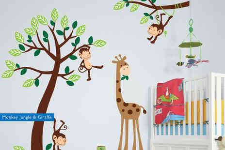 Fab Deco - Kids wall sticker - Save 75%