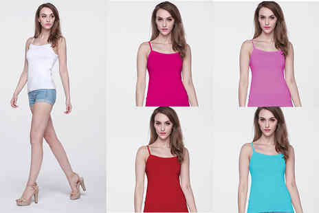 Buy Bay - 12 pack of womens camisoles - Save 72%