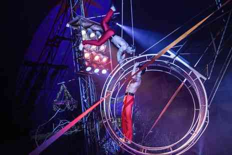 Russells International Circus - Two or Five Front Circle Tickets, Market Deeping From 14 To 17 July - Save 70%