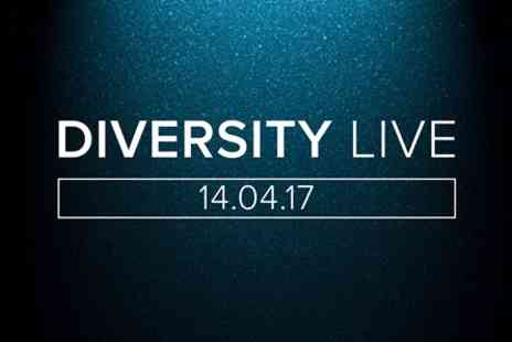 Diversity Live - Tapas Dining Experience for Two with Wine and Diversity Live - Save 0%