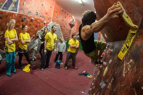 Rock Over Climbing - One Hour Climbing Induction and Two Passes for Two - Save 79%