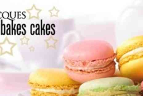 Jacques Bakes Cakes - Macaroon Baking Class For Two With 16 Macaroons Each To Take Home - Save 62%