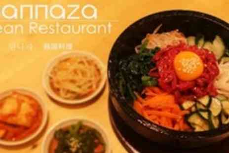 Mannaza Korean Restaurant - Korean Fare Main and Side Dish For Two - Save 52%