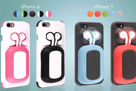TLD Marketing - Dome8 Phone Case with Headphone Port in 5 Colours - Save 0%