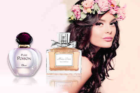 Wowcher Direct - 30ml bottle of Miss Dior EDP or 30ml bottle of Pure Poison EDP - Save 21%