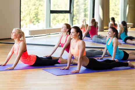 Fitness Fusions - One hour yoga, pilates, yoga pilates, kettle pilates or barre concept classes - Save 81%