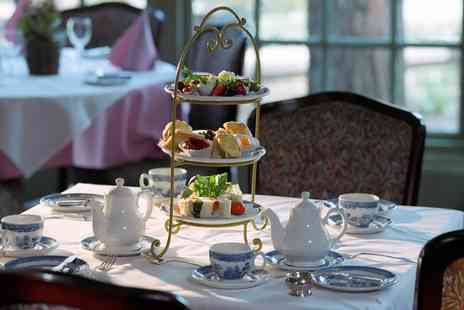 Stratton House Hotel - Traditional or Sparkling Afternoon Tea for Two or Four - Save 0%