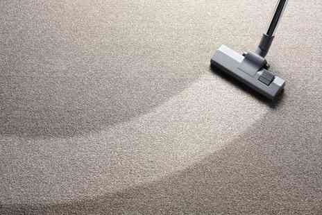 Omniety Property Services - Carpet Cleaning for Up to Three Rooms and Hallway - Save 55%
