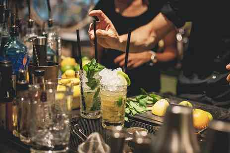 Thirty3Hz - Choice of Mixology Masterclass with Three Cocktails for Up to Four - Save 41%