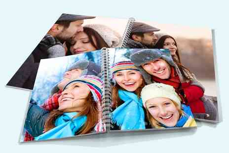 Printerpix - Personalised Spiral Photobook - Save 60%