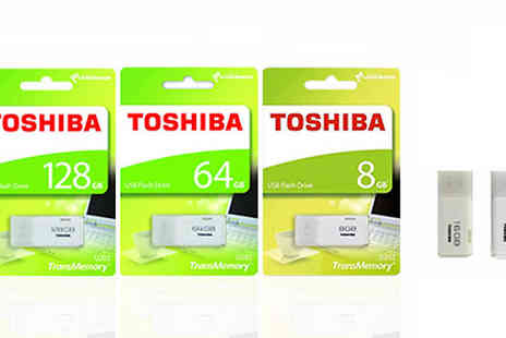 Moby Memory - Toshiba USB 2.0 Flash Drive for 5 Memory Sizes - Save 0%