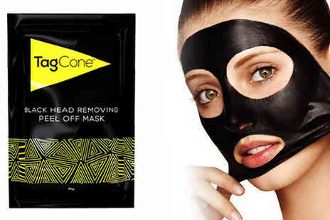 Jelly Turtle - Pack of 10 or 20 TagCone Blackhead Removal Mask Strips - Save 83%
