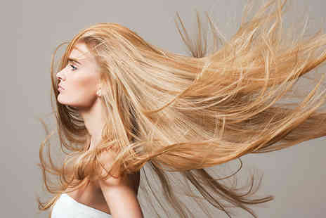 Fontage - Half head of highlights, cut and blow dry - Save 75%