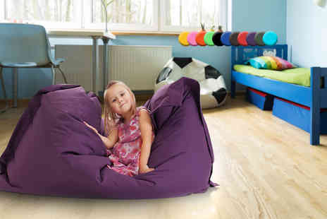 UK Beanbags - Kids beanbag choose from 11 bright colours - Save 0%