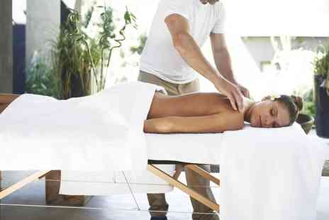 Talking Feet - One Hour Facial or Swedish Massage - Save 58%