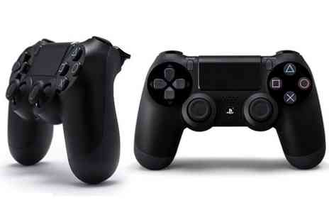 GoldBoxDeals - Sony PlayStation DualShock 4 Jet Black Controller With Free Delivery - Save 0%