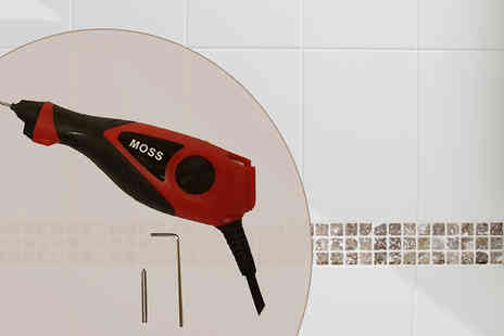 Hot Buys - 240V Electric Floor and Wall Grout Remover - Save 50%