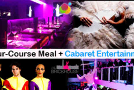 The Brickhouse - Fabulous Four Course Supper Club and Cabaret - Save 49%