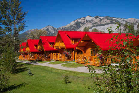 Deluxe Breaks - Seven night Canadian National Park cabin break including flights and car hire - Save 21%