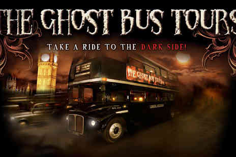 Ghost Bus Tours - Ghost bus tour of London for £9 - Save 50%