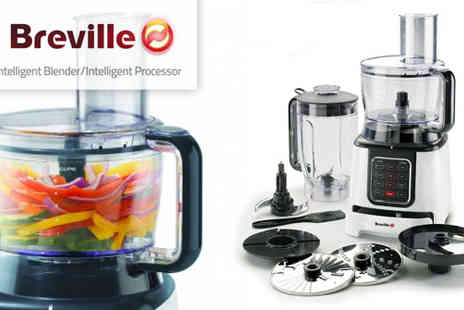 Breville - Intelligent Food Processor for £89 - Save 50&