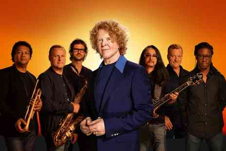 The SSE SWALEC - Simply Red at The SSE SWALEC General Admission Ticket, 17 July - Save 0%