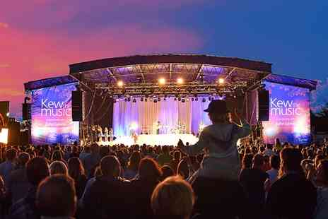 Kew The Music - One adult general admission ticket to Kew the Music - Save 54%