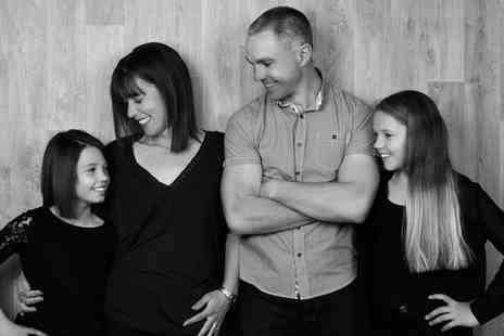 Debbie Wilkinson Photography - Family or Group Photoshoot for Up to Eight with a Print - Save 0%