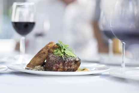 Best Western Royal Clifton Hotel & Spa - Two Course Steak Meal with Wine for Two or Four - Save 0%