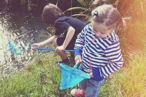 Saltholme Wildlife Reserve - Entry for Family of Four with Pond Dipping Kit, Explorer Pack and Drink - Save 0%