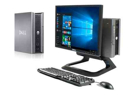 Titanium Computers - Refurbished Dell Optiplex Desktop, Monitor, Keyboard and Mouse With Free Delivery - Save 0%