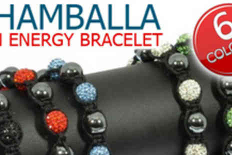 Gifts4U - Get your mind and body in sync with Sparkling Shamballa bracelet - Save 82%