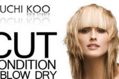 Kuchi Koo Hair Studio - Make a style statement with a cut, condition and blow dry - Save 74%