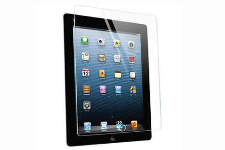 Xpress Buyer - Tempered Glass Protector for iPad 2, 3 or 4 - Save 0%