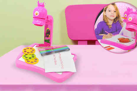 Toy Loco - Kids Projector Colouring Kit - Save 50%
