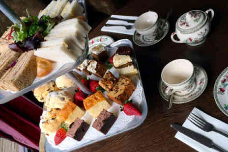 Heart of England - Summer afternoon tea for two with a white wine spritzer each - Save 0%