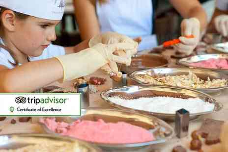 The Kandy Factory - One hour chocolate making workshop for one child - Save 50%