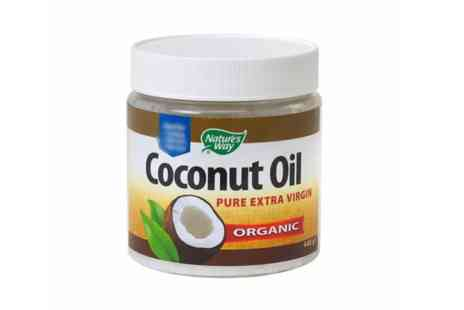 Natures Way - 448g Organic Coconut Oil - Save 0%