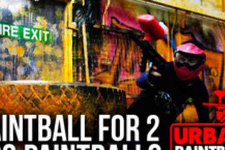 Urban Paintball - Go into combat with two hours� indoor paintballing for two - Save 85%