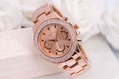 Sarroff - Womens Bradberry Watches Made with Crystals from Swarovski With Free Delivery - Save 76%
