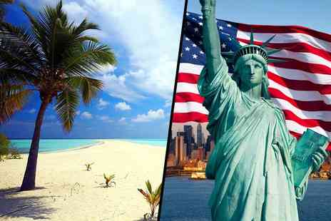 Deluxe Breaks - Six or Nine night New York and Cayman Islands break with flights - Save 38%