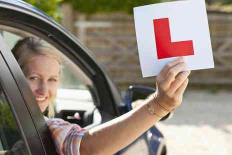 Solihull Driving School - 14 to 17 Year Old One Hour Driving Lesson Plus 30 Minute Control Session - Save 68%