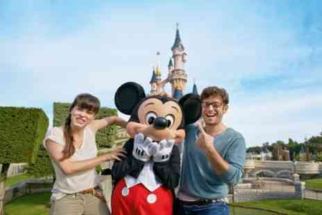 Disneyland Paris - Disneyland Paris 2 Parks tickets for the Price of 1 - Save 0%